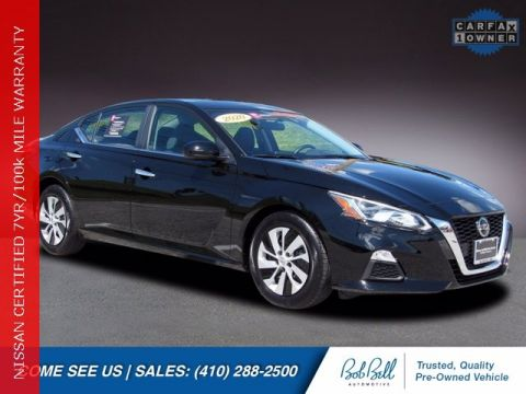 Pre-Owned 2020 Nissan Altima 2.5 S FWD 4D Sedan