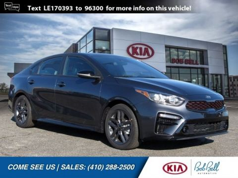 New 2020 Kia Forte GT-Line FWD 4D Sedan